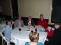 Saturday -- At the banquet.