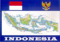 04- Map of Indonesia