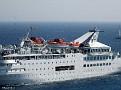 ORIENT QUEEN II arriving Rhodes 20120718 026