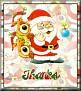 Santa with friendsTaThanks