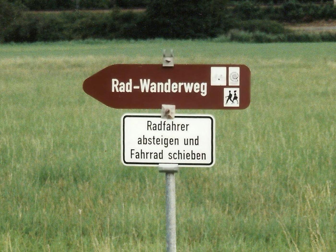 Rad-Wanderweg