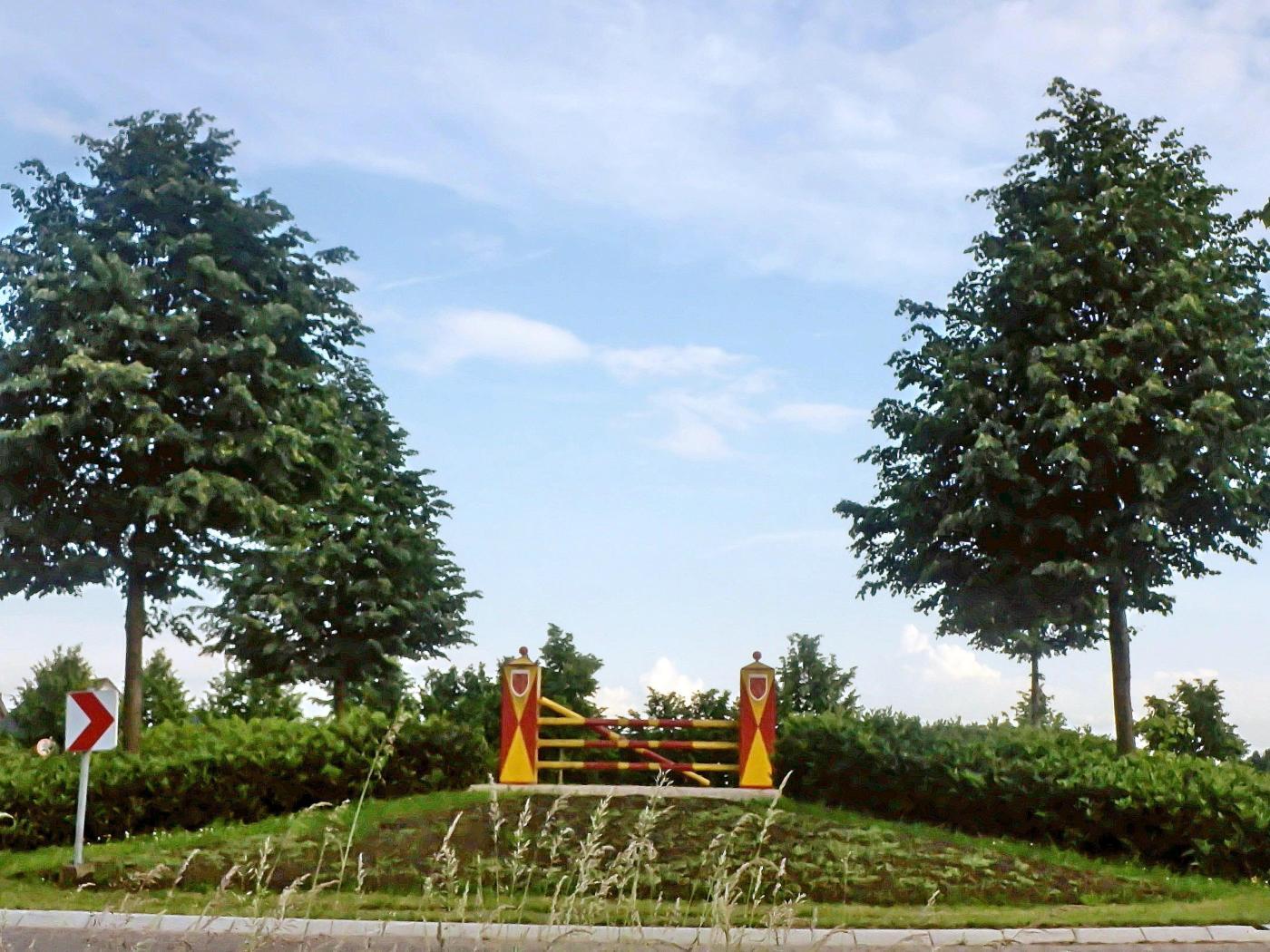 Kreisverkehrsinsel Riesenbeck