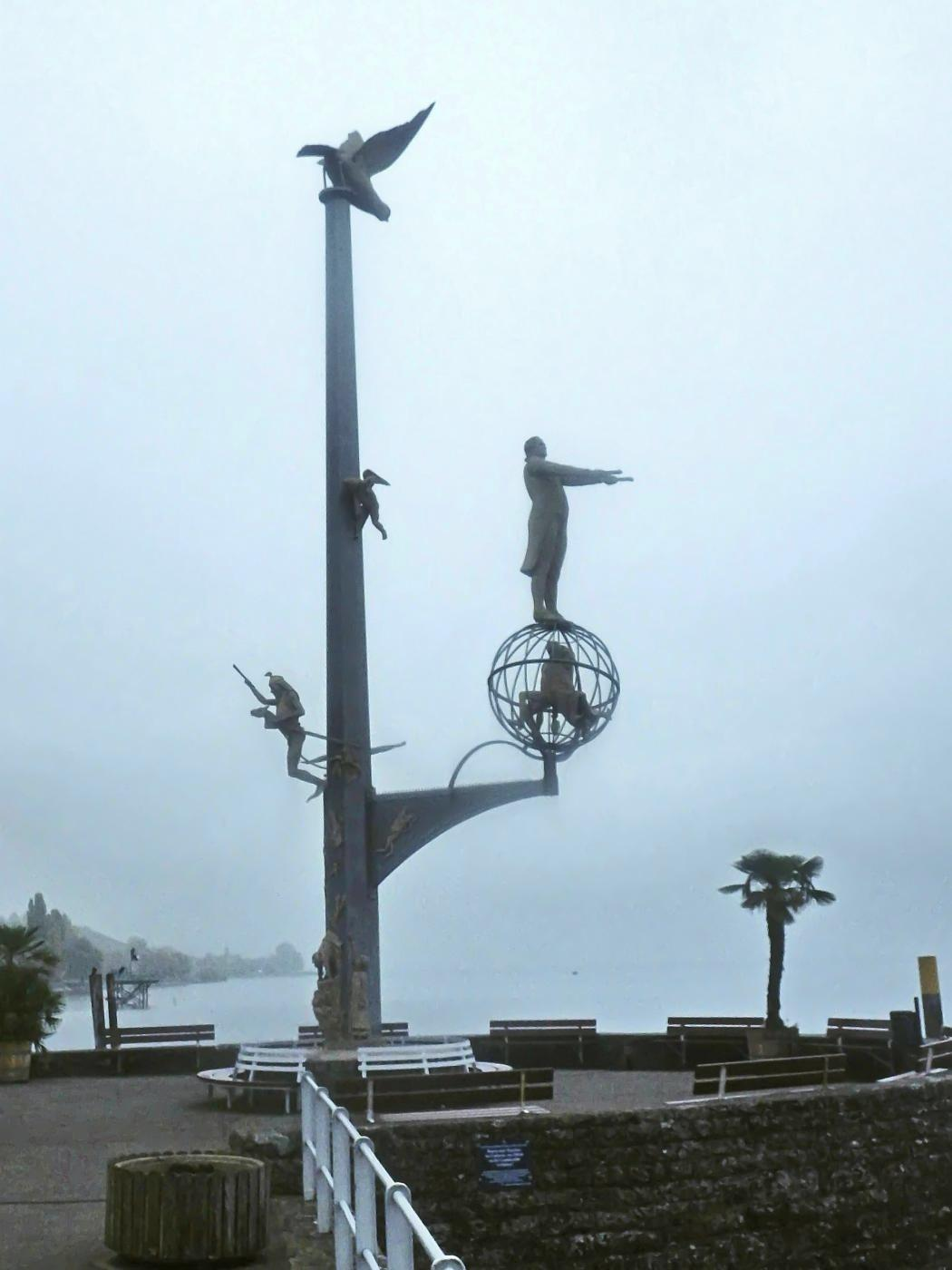 Die magische Säule an der Hafenmole