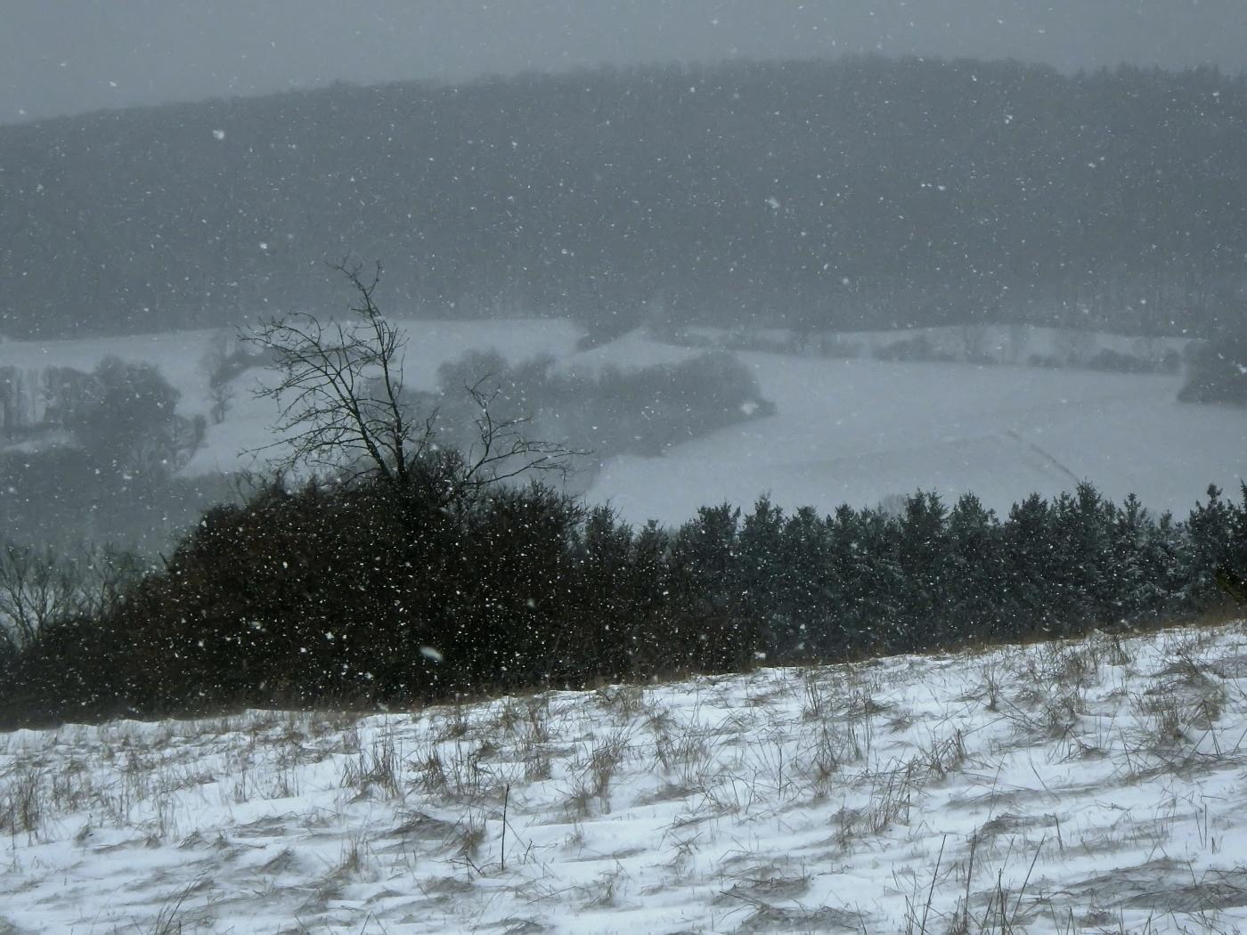 Väterchen Frost wandert durch das Weserbergland