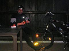 Regenschutz in der Hühnerbusch-Hütte