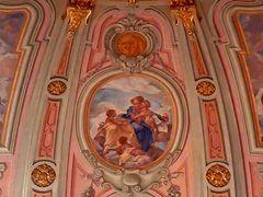 Blick in die Kuppel der Frauenkirche