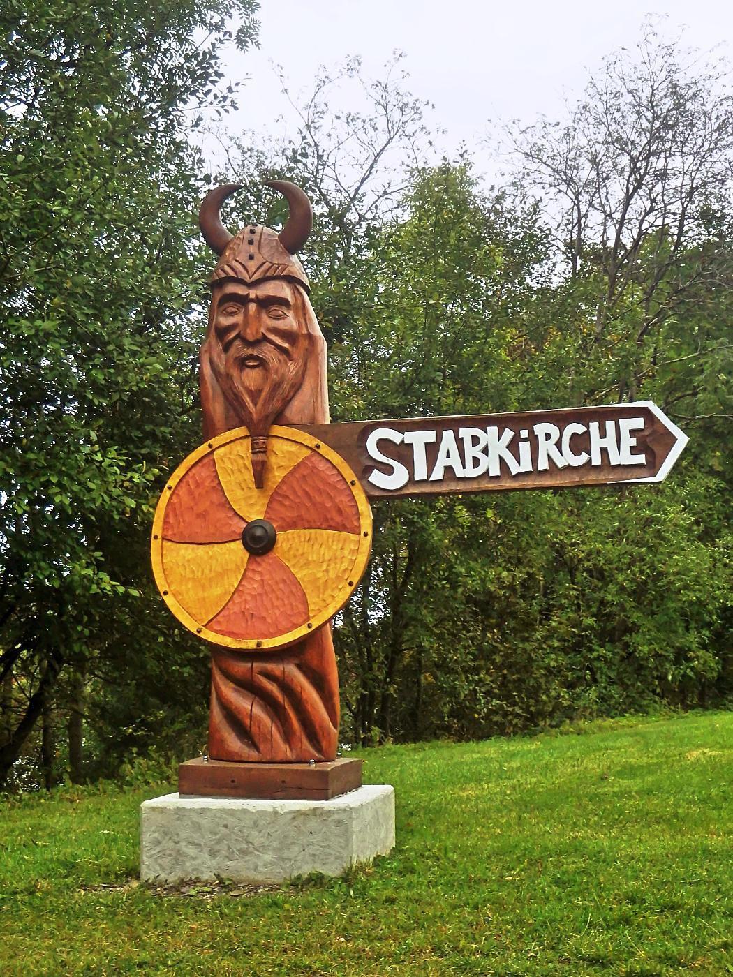 Richtung Stabkirche