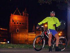 Defence Tower Haarlem at night