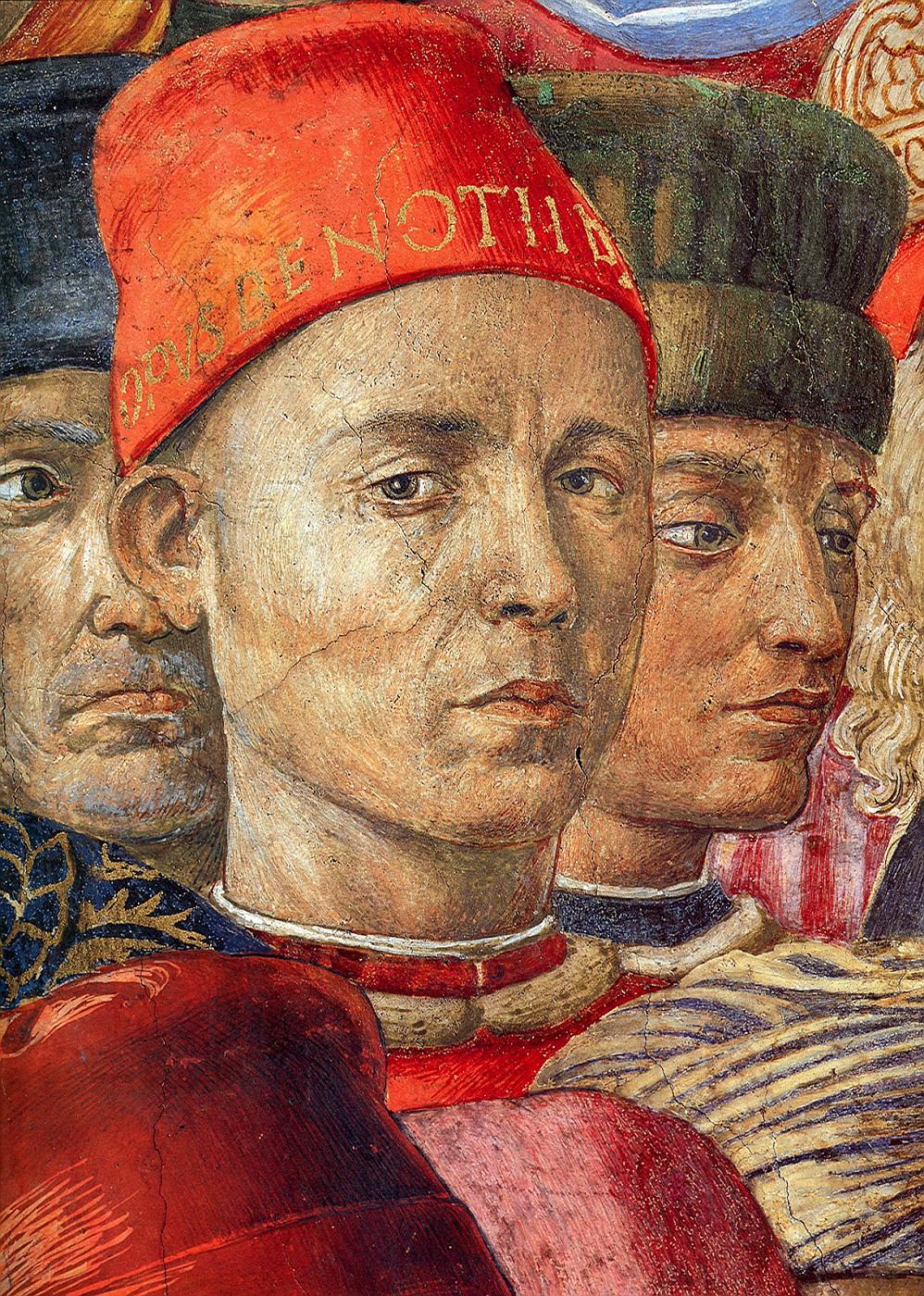 Беноццо Гоццоли (итал. Benozzo Gozzoli, 1420—1497) — итальянский художник