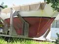 classic sailboat on Man o War Cay
