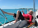 Captain Ellen - soaking up the sun