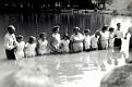 Baptizing at Kermit Sharp's Pond, in Mill Branch Community