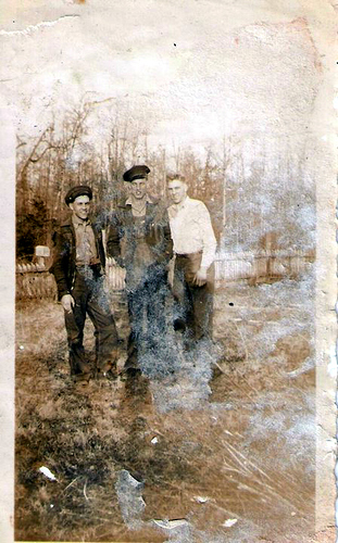 50-Uncle Bud and Jack Moffett, also Papaw Moffett