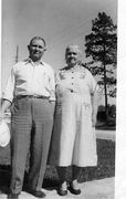 U-Rufus and Effie Thomas late 1950's