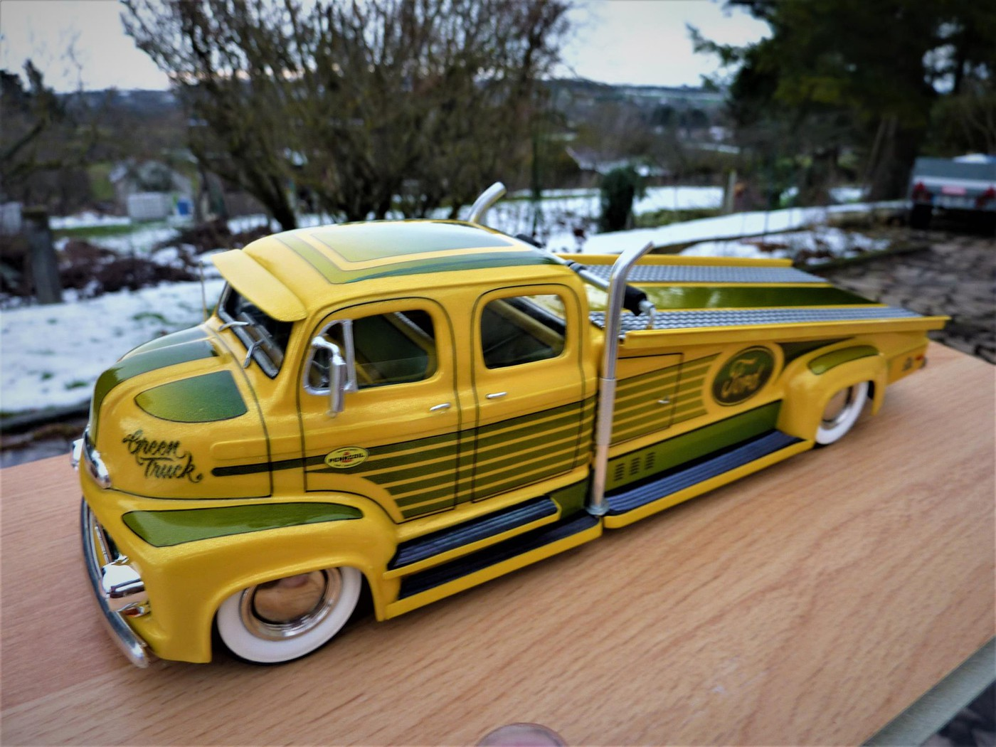 Combo  Porteur Ford 52 COE et Willy's 33 gasser  terminé  - Page 2 Photo22-vi