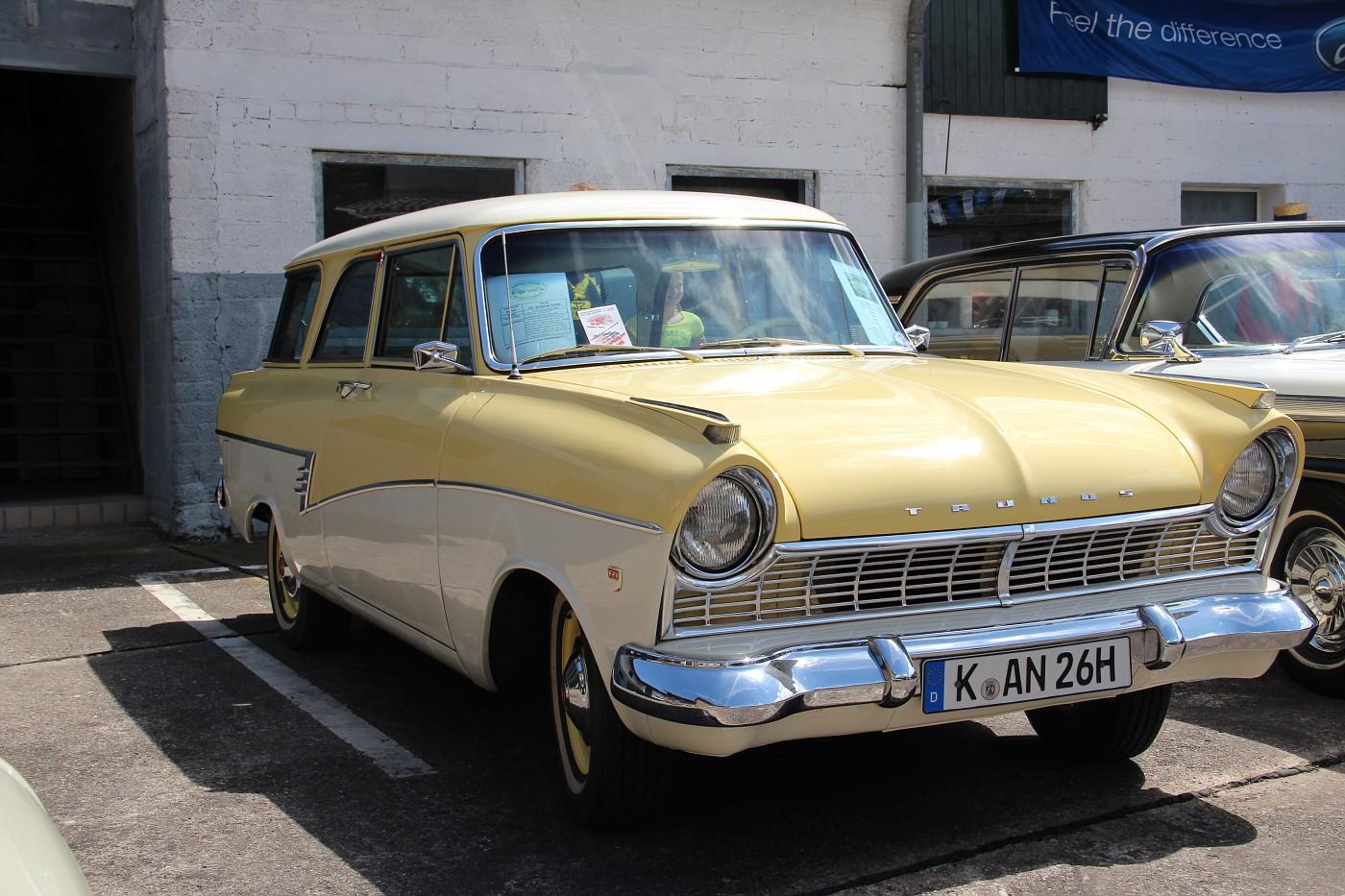 photo 1959 ford taunus 17m p2 turnier classic cars. Black Bedroom Furniture Sets. Home Design Ideas