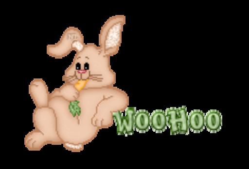 WooHoo - BunnyWithCarrot