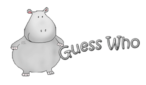 Guess Who - CuteHippo2018