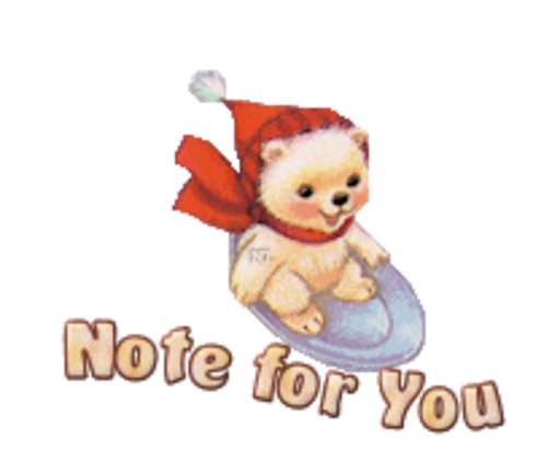 Note for You - WinterSlides