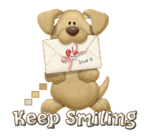 Keep Smiling - PuppyLoveULetter