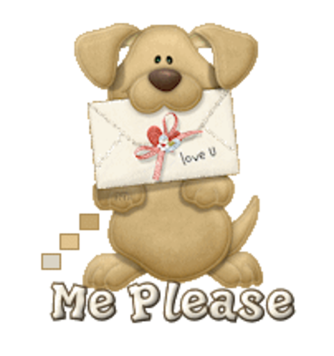 Me Please - PuppyLoveULetter