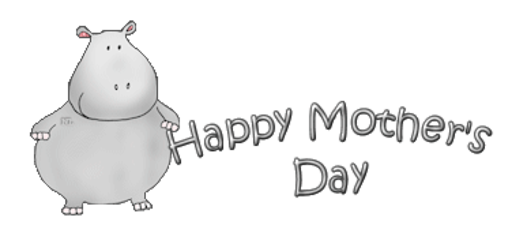 Happy Mother's Day - CuteHippo2018
