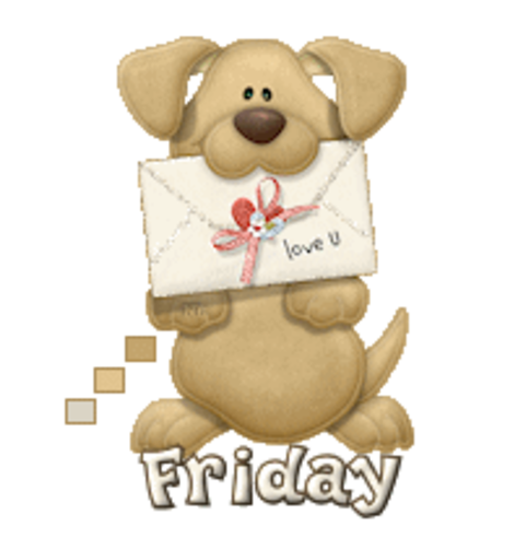 DOTW Friday - PuppyLoveULetter