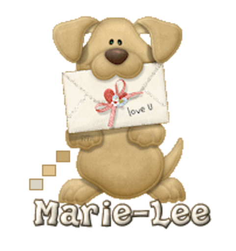 Marie-Lee - PuppyLoveULetter