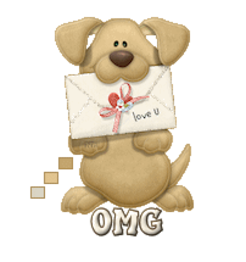 OMG - PuppyLoveULetter