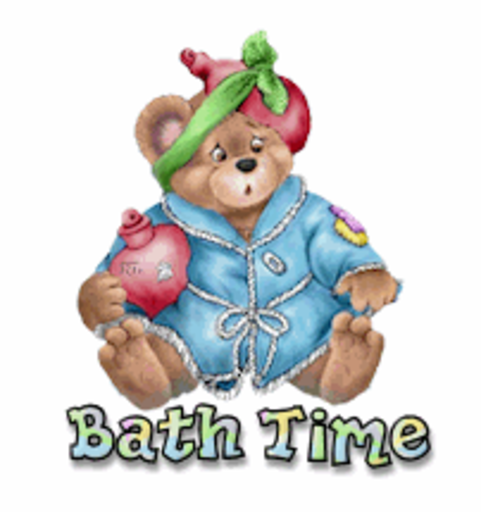 Bath Time - BearGetWellSoon