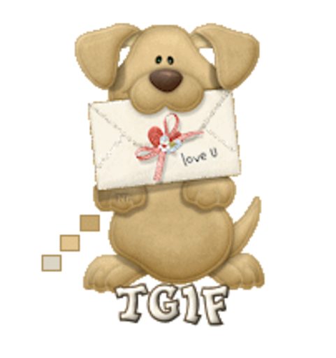 TGIF - PuppyLoveULetter