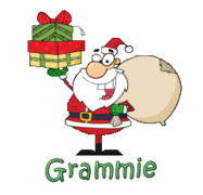 Grammie - SantaDeliveringGifts