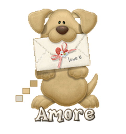 Amore - PuppyLoveULetter