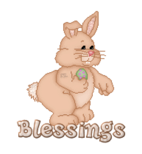 Blessings - BunnyWithEgg