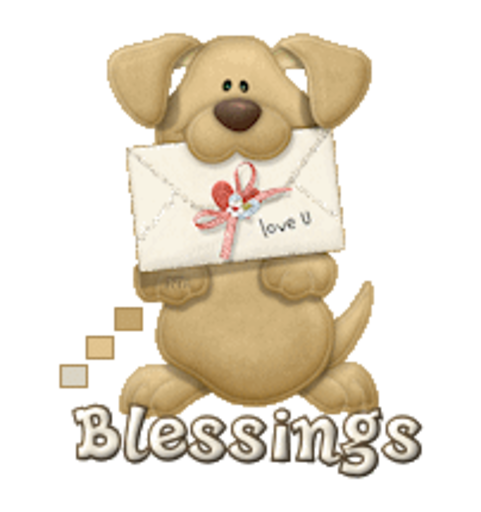 Blessings - PuppyLoveULetter