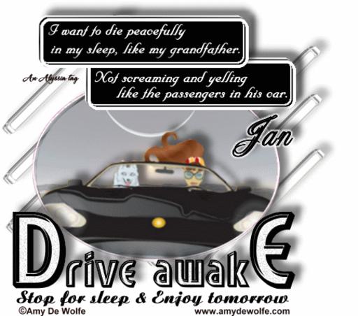 Jan DriveAwake AmyDeW Alyssia