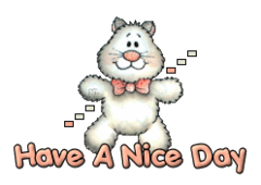 Have A Nice Day - HuggingKitten NL16