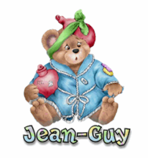 Jean-Guy - BearGetWellSoon