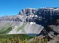 Mt. Bourgeau and Bourgeau Lake
