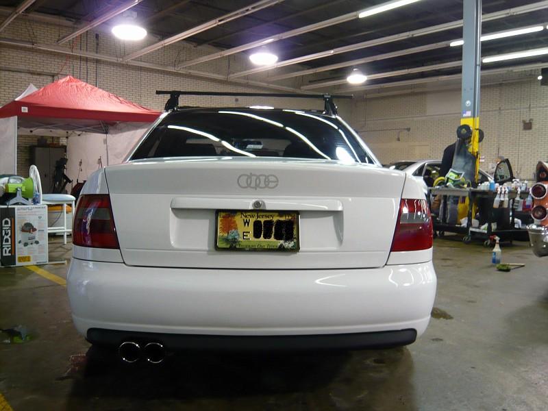 Euro S4 Rear Bumper