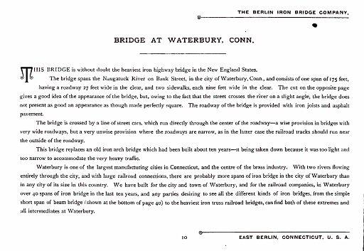 BERLIN IRON BRIDGE CO  - PAGE 010