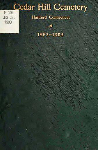 CEDAR HILL CEMETERY - COVER