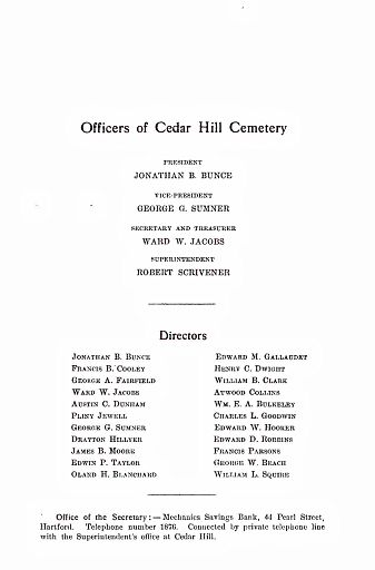 CEDAR HILL CEMETERY - PAGE 03 - OFFICERS