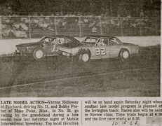 32-Bobby Foster  & 11-Vernon Holloway mobile 10-15-68