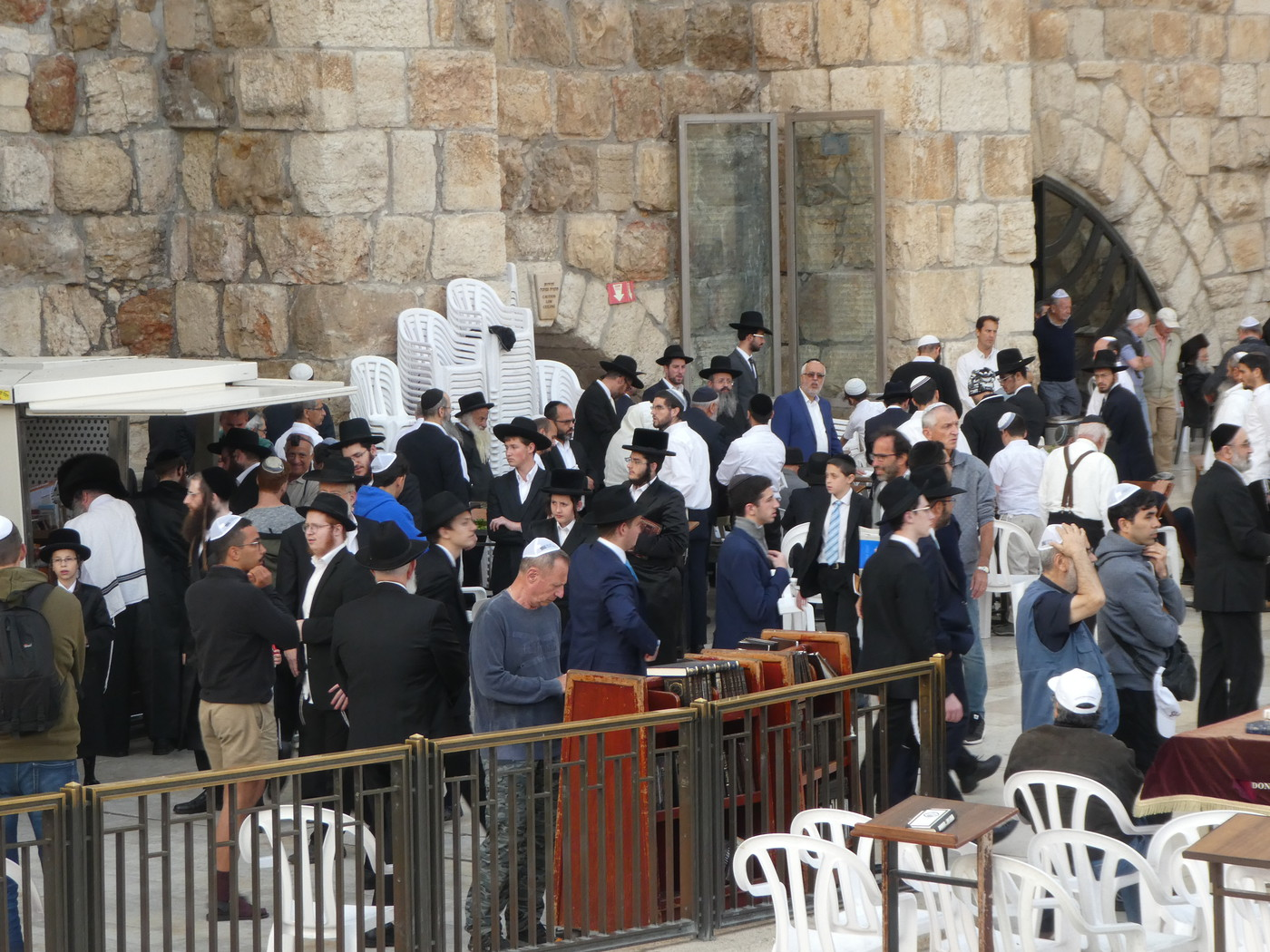 Sabbath at Western Wall