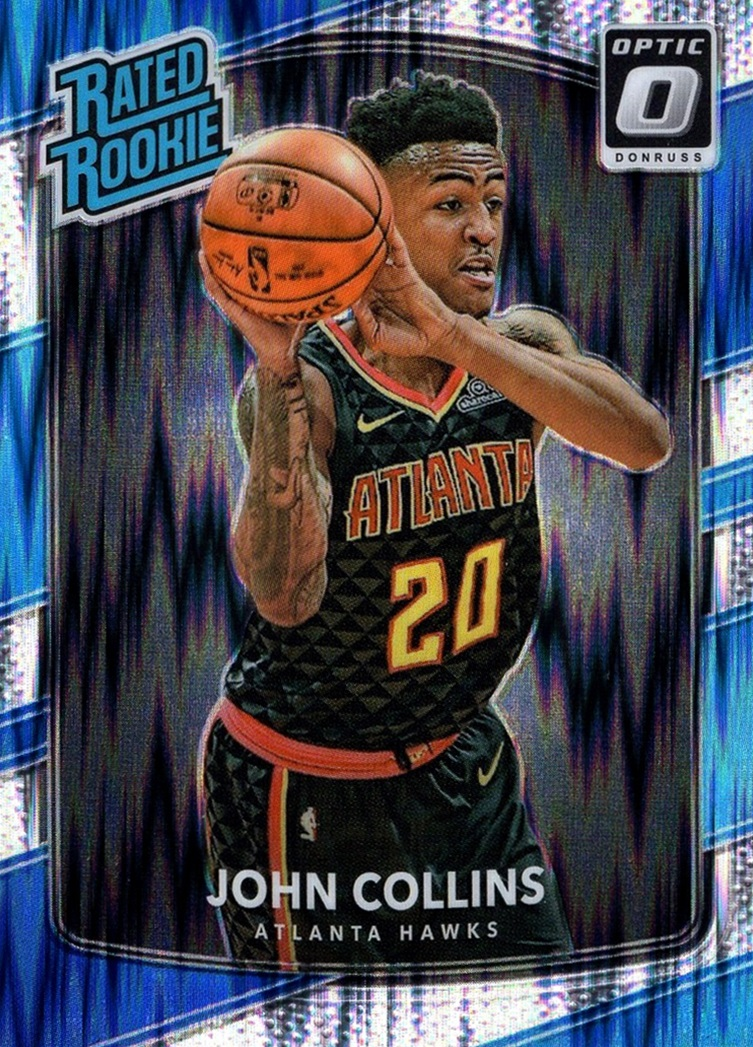 2017-18 Donruss Optic Rated Rookie Shock #182 (1)