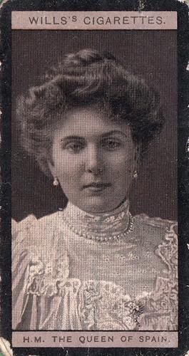 1908 Wills European Royalty #037 (1)