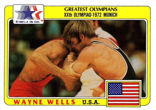 1983 Topps Greatest Olympians #56 (1)