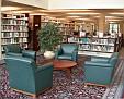 Stacks reading area