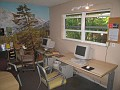 Internet Access Room at Floyd's Hostel in Ft. Lauderdale, Florida